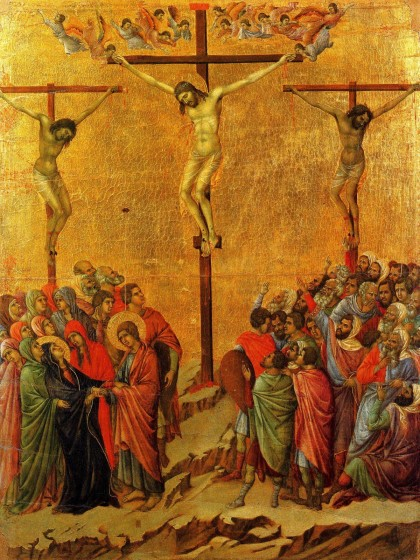 Duccio Di Buoninsegna, Crucifixion (1308-11)